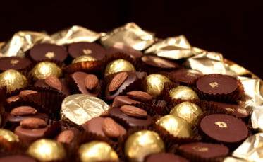 Du chocolat à offrir.
