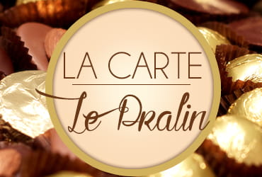 La carte Le Pralin