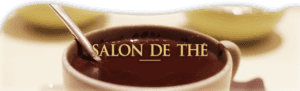 Salon de thé à Antibes.