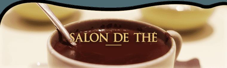 Salon de thé à Antibes.