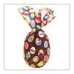 œuf en chocolat géant.