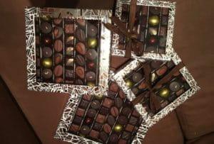 Des chocolats à offrir pour Noël.