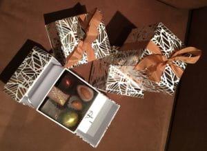 Chocolats à offrir.