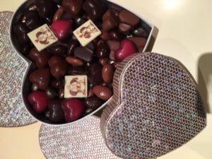 Une boite de chocolats par Le Pralin.