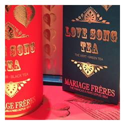 Salon de thé à Antibes pour la Saint-Valentin.