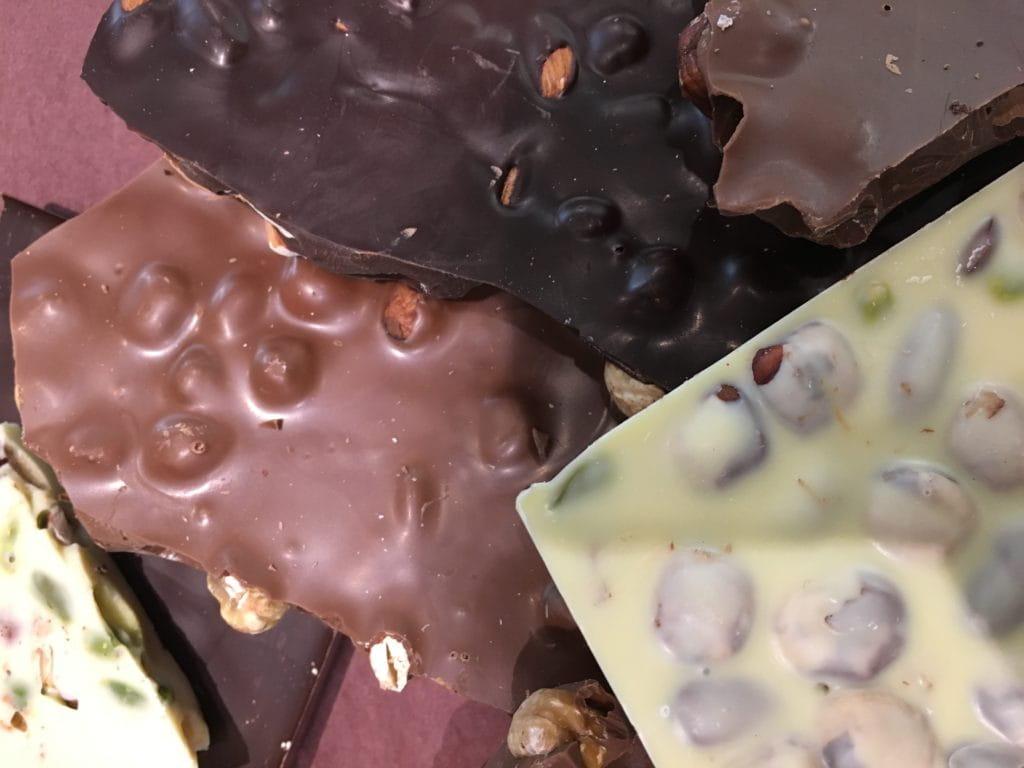 Des chocolats artisanaux de chez Le Pralin à Antibes.