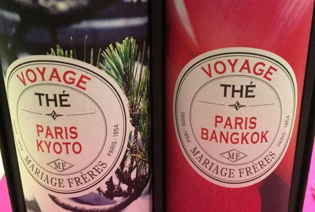Les thés Mariage Frères chez Le Pralin.