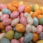 œufs de Pâques vendus à la boutique de chocolat du Pralin.