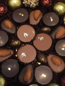 Chocolats haut de gamme.