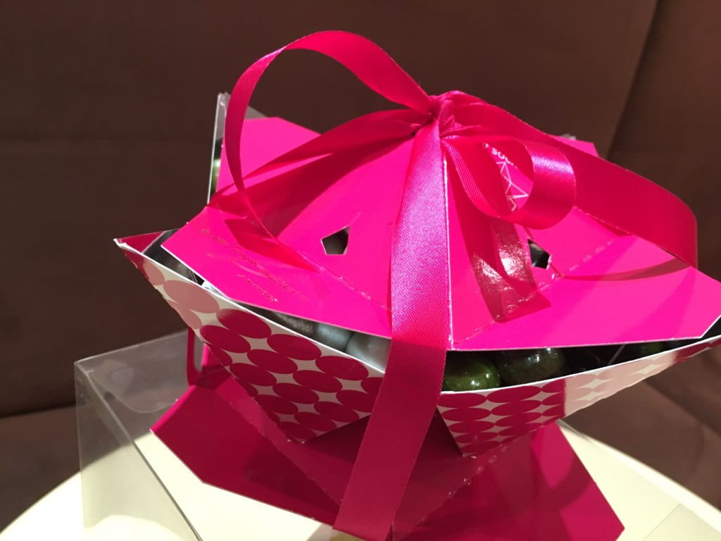 Boîte Origami du Pralin.