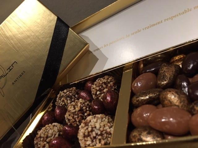 Chocolats à offrir à Noël.
