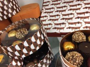 Idées de cadeau en chocolat.