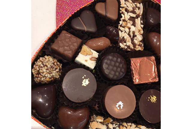 Chocolats à offrir le 14 février.