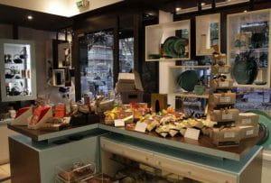 Intérieur de la boutique Le Pralin.