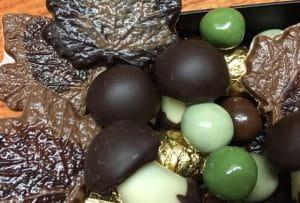 Chocolats de l'automne à la boutique de chocolats Le Pralin.