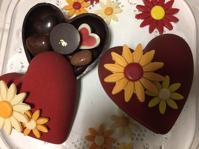 Chocolats à offrir à la fête des grands-mères.