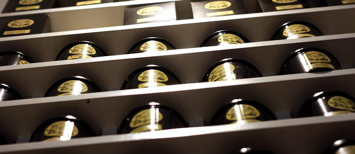 Photo des thés Mariages à la boutique Le Pralin.